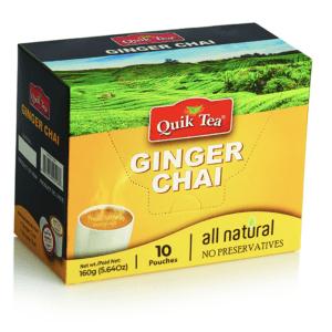 Ginger Chai Latte - 10 pack