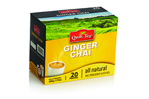 Ginger Chai - 20 Pack