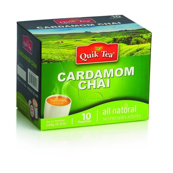 Cardamom Chai Latte