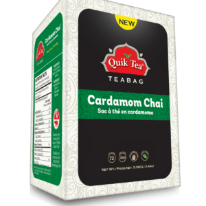 Cardamom Chai Tea Bags - New Pack