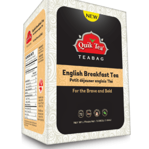 English Breakfast Tea Bags - New Pack