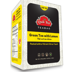 Green Tea with Lemon - New Pack