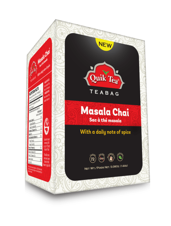 Masala Tea Bag 72 count - New Pack