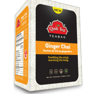 Ginger Chai Tea Bags - New Pack