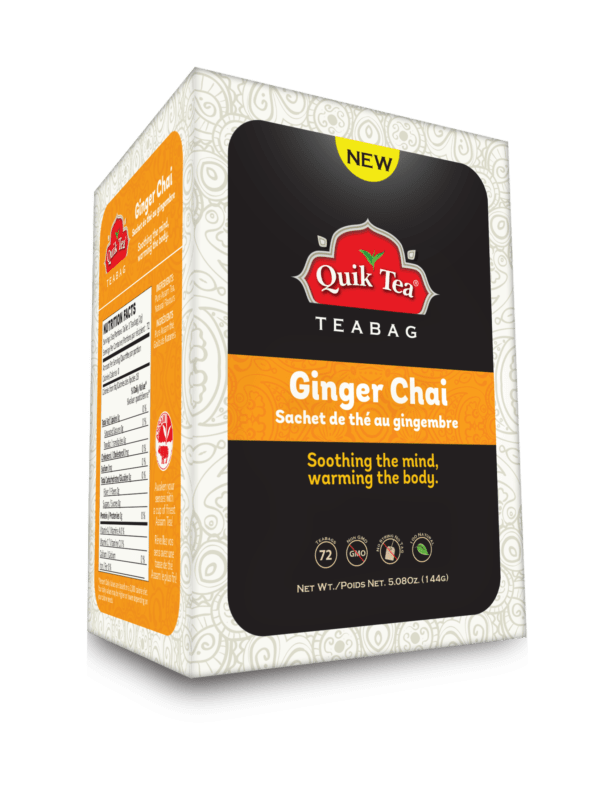 Ginger Tea Bags 72 Count - New Pack
