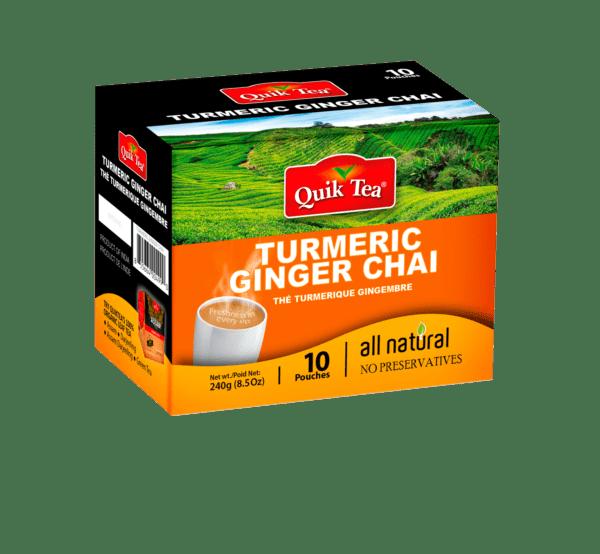 Turmeric Ginger Chai - 10 Pack