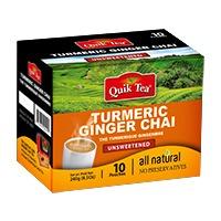Unsweetened Turmeric-Ginger Chai
